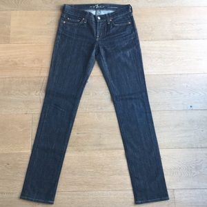 7 For All Mankind - Low Rise Straight Leg, Size 26